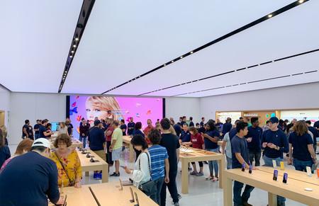 Apple  تخزين الغابات
