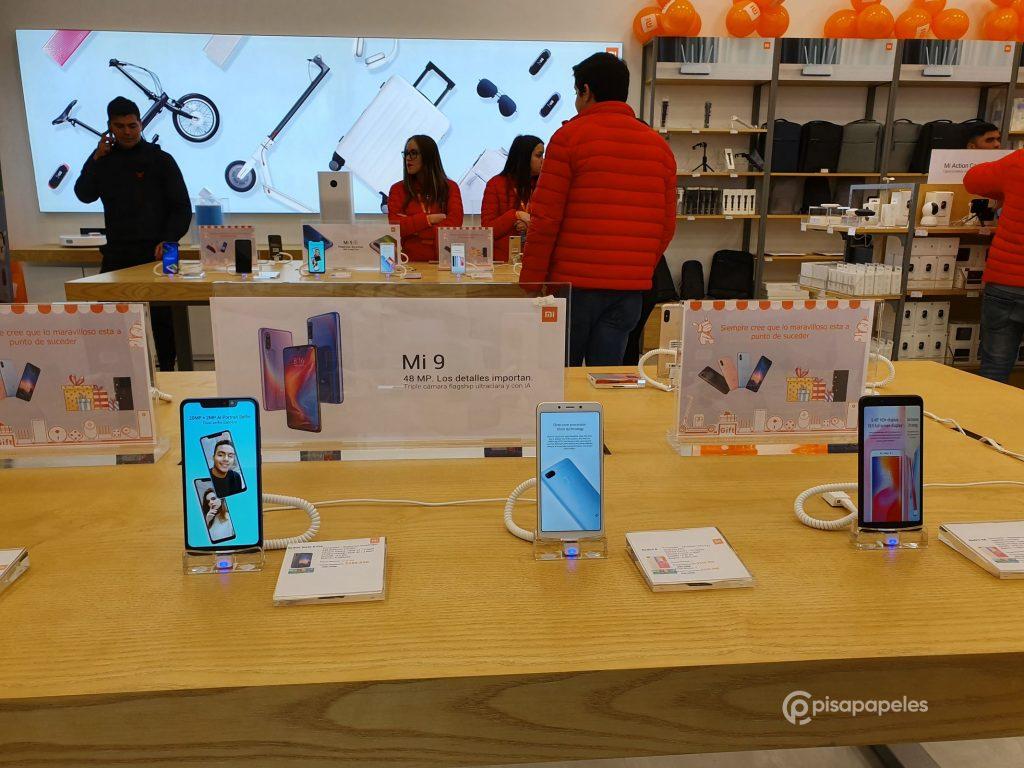 بمساعدة أكثر من ألف شخص ، تم افتتاح متجر Xiaomi Mi Store الثاني في تشيلي 3
