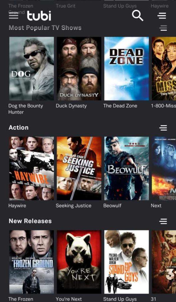 12 تطبيقات مجانية للأفلام والتلفزيون من أجل البث القانوني في 2019 2