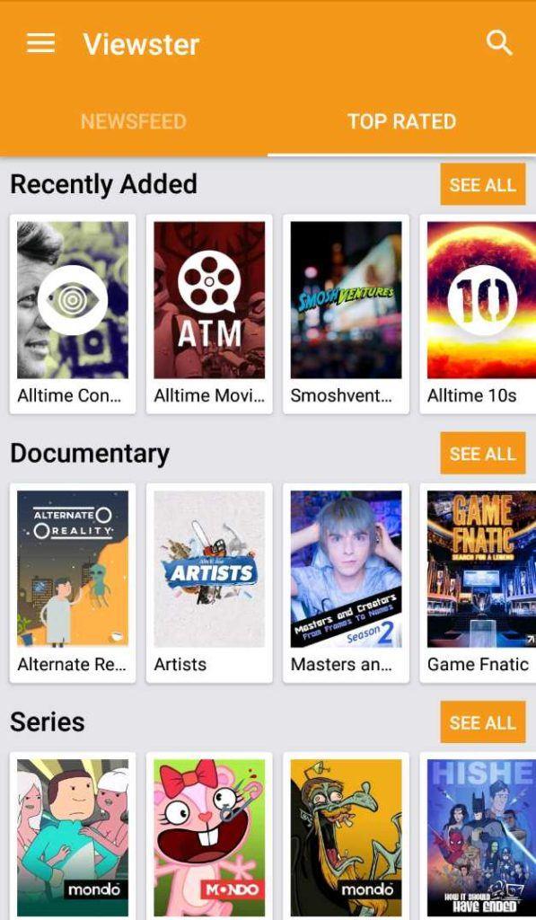 12 تطبيقات مجانية للأفلام والتلفزيون من أجل البث القانوني في 2019 4