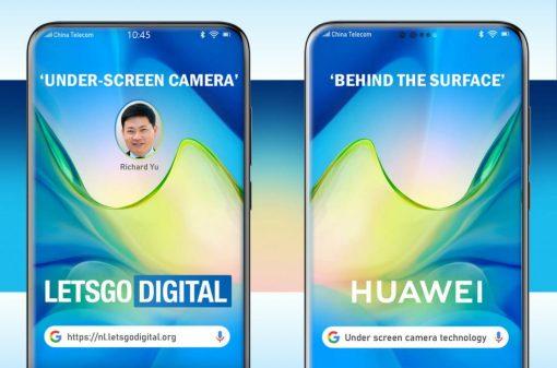 هذه هي تقنية الكاميرا الموجودة أسفل الشاشة التي تعدها Huawei بالفعل للهاتف المحمول 1