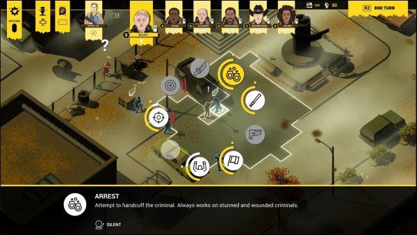 ثائر رجال الشرطة الاستعراض: قصة مقنعة محملة اللعب الاستراتيجي 5