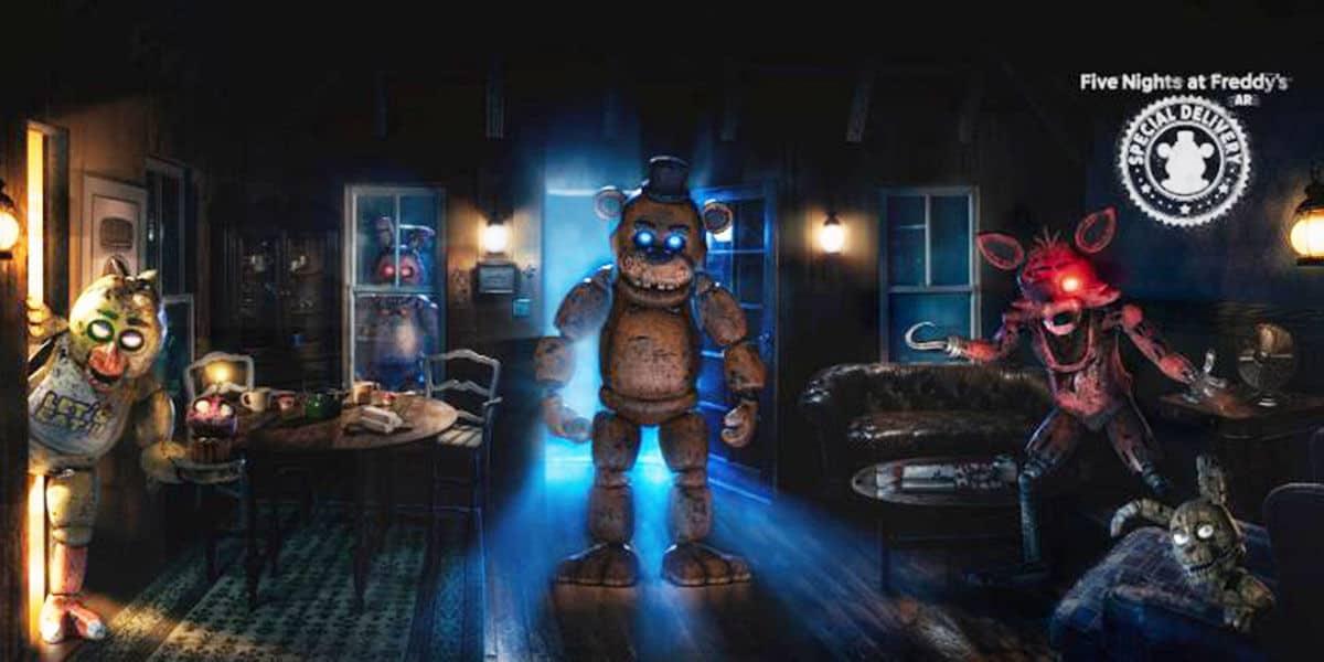 Five Nights at Freddy's AR: تم إطلاق اللعبة الغريبة في الخريف! 1