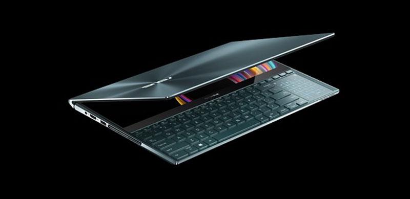 إطلاق لوحة المفاتيح ASUS ZenBook Pro Duo