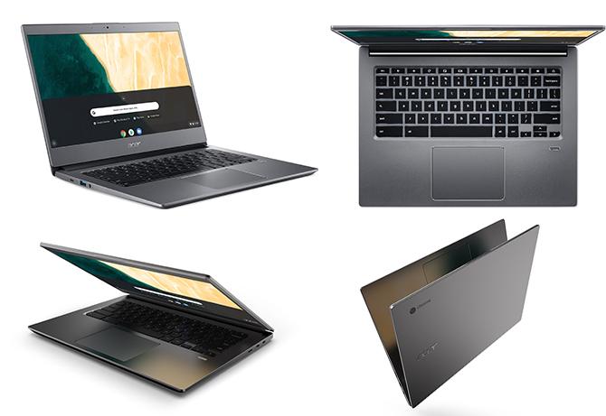 تقدم شركة أيسر خطين جديدين لجهاز Chromebook وتعلن عن لعبة Spin 3 الجديدة 3
