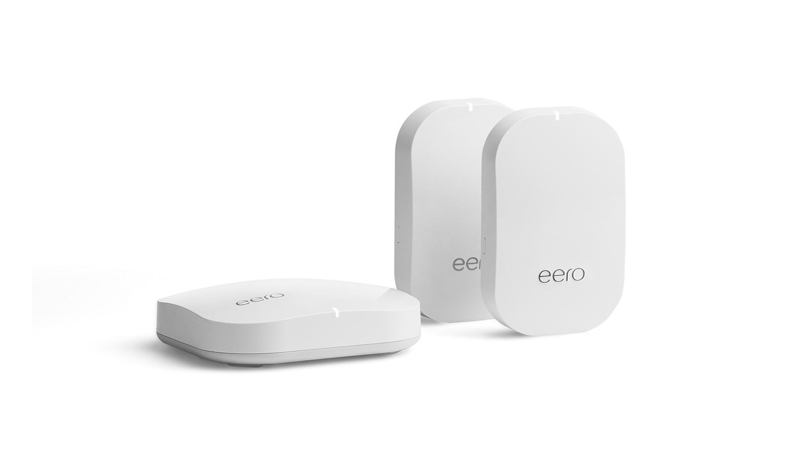 نموذج الدور المحتمل لـ Google: Eero mesh router مع إشارات