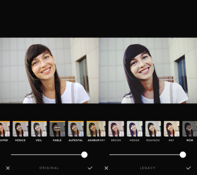 لقطات من Afterlight 2 ، أفضل تطبيق مرشح لصور شخصية