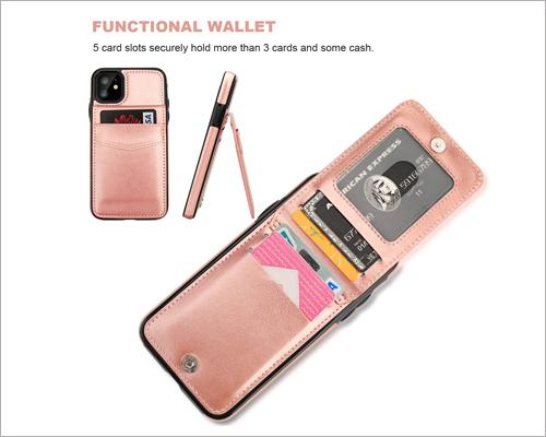 KIHUWEY iPhone 11 Wallet Case