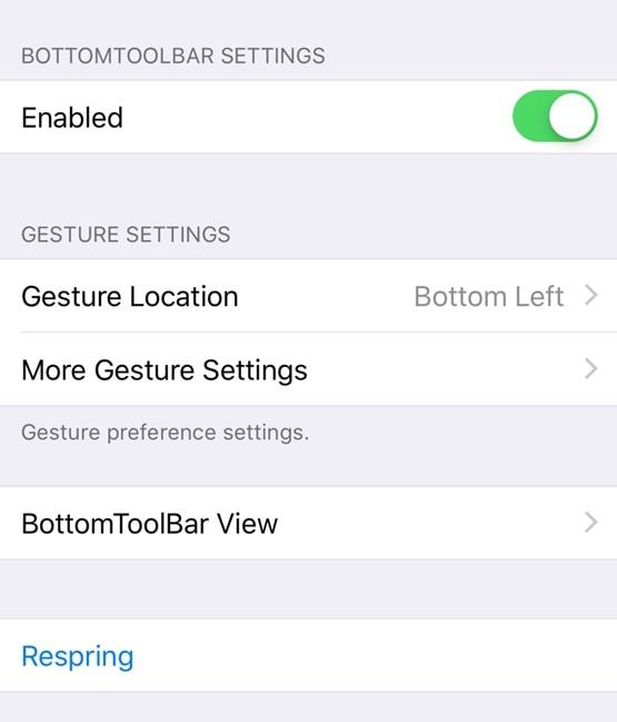 يسهل BottomToolBar الوصول إلى أهم ميزات جهاز iPhone 2