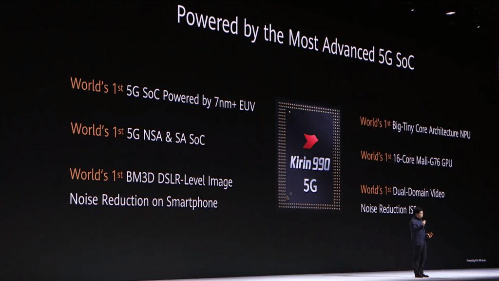 يعتبر Kirin 990 هو الهوائي 5G الأكثر تطوراً والأسرع في العالم