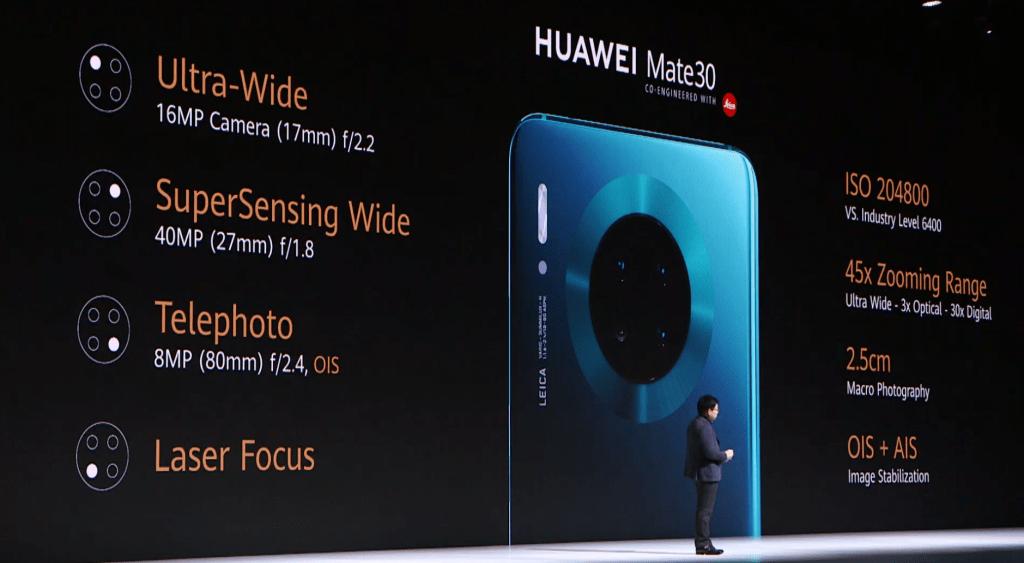 تحتوي الكاميرات على أقوى جهاز استشعار تم إطلاقه على الهاتف الذكي. من 40mP