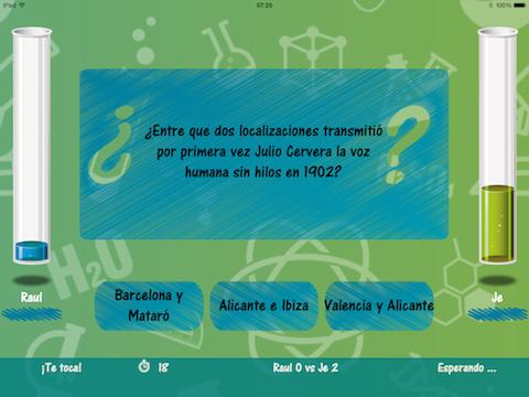 Cienciados ، لعبة سؤال وجواب حول Science for iPhone و iPad 4