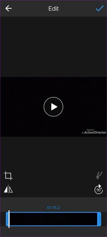 الجمع بين أشرطة الفيديو أندرويد 10