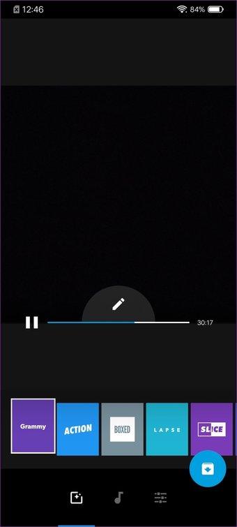 الجمع بين أشرطة الفيديو أندرويد 15