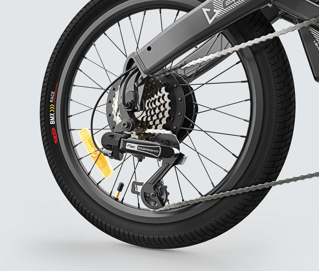 Xiaomi Himo C20 عبارة عن دراجة كهربائية ذات نطاق 80 كم وسعر رائع + تسليم من مستودع الاتحاد الأوروبي 5