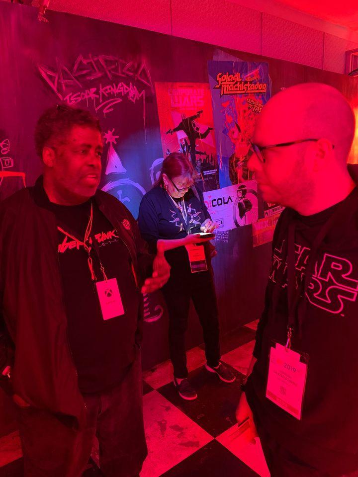 Cyberpunk 2077s E3 2019 كشك يشبه شريط المستقبل - صورة رقم 3