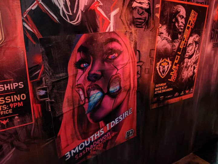Cyberpunk 2077s E3 2019 كشك يشبه شريط المستقبل - صورة رقم 7