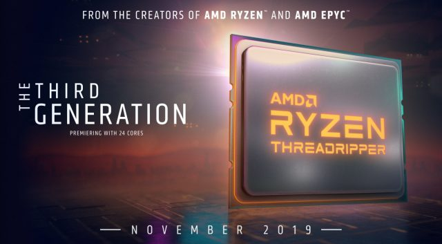 AMD تؤجل 3rd Gen Threadripper ، 16 كور Ryzen 9 3950X حتى نوفمبر 2