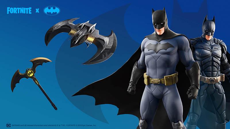 خلال الحدث ، يمكننا شراء بدلة باتمان من المتجر Fortnite.