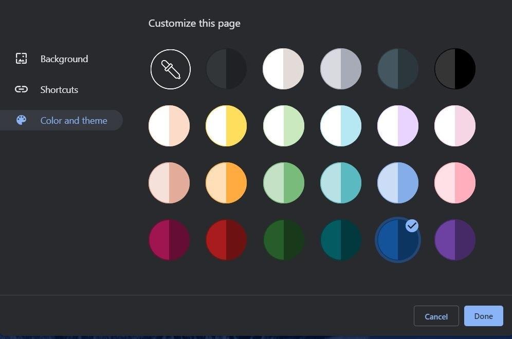قم بتخصيص متصفح Chrome باستخدام نمط السمة الخاص بك 6
