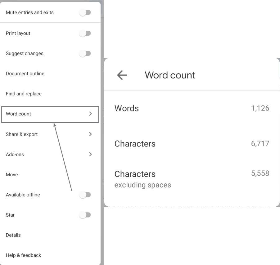 عدد مستندات Google لمحرّر المستندات