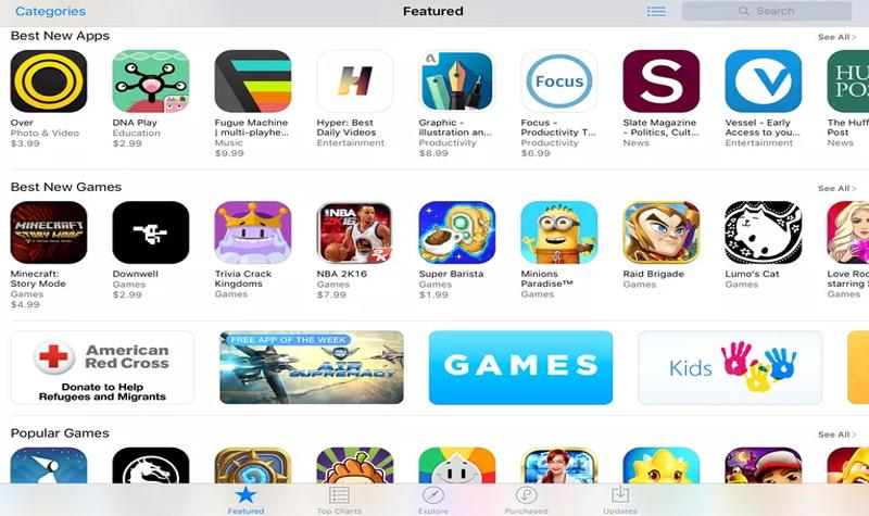 قائمة أفضل التطبيقات المحظورة لل Apple متجر IOS