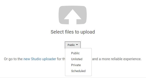 صورة وفيديو النسخ الاحتياطي على يوتيوب خالية من التكلفة