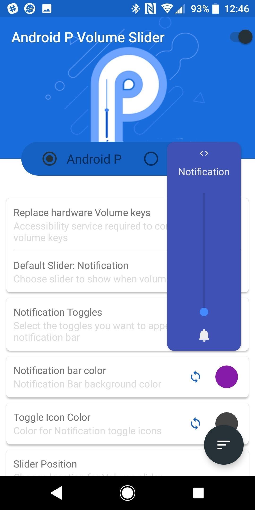 احصل على Android 9.0 Pie's Volume Slider على أي هاتف وتحكم بحجم صوت الوسائط افتراضيًا
