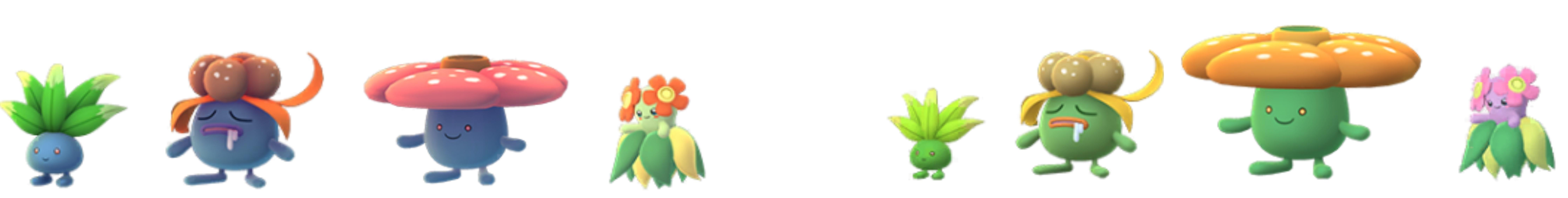 بوكيمون الذهاب جديد لامعة بوكيمون أكتوبر 4
