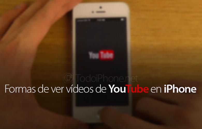 3 طرق مختلفة لمشاهدة أشرطة الفيديو من YouTube على اي فون الخاص بك 1