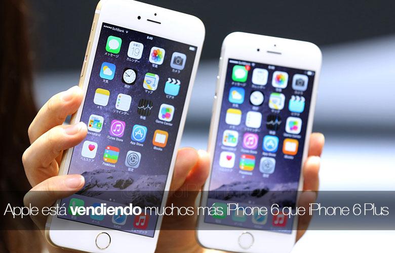 Apple يبيع العديد من iPhone 6 أكثر من iPhone 6 Plus 1