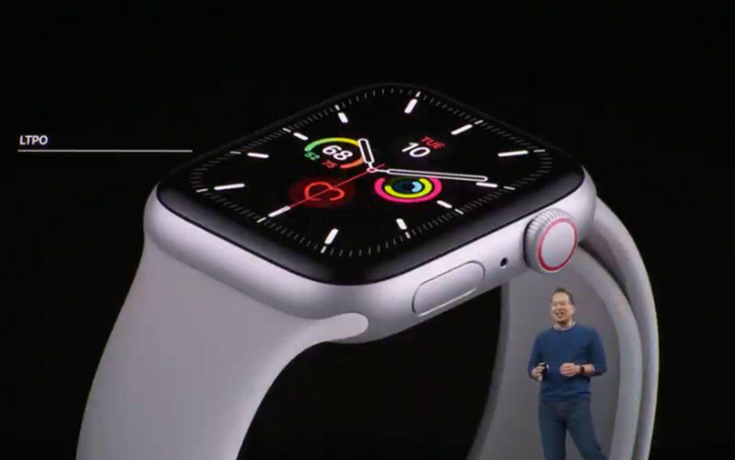 Apple Watch السلسلة 5 رسمية: كل التفاصيل 1