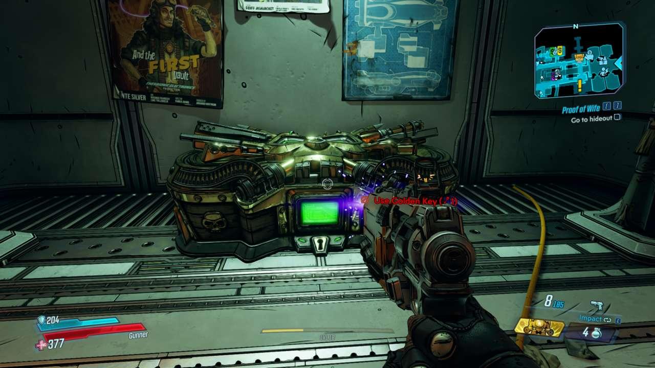 Borderlands 3 مفاتيح ذهبية وصناديق ذهبية وكيف تعمل رموز التبديل 1