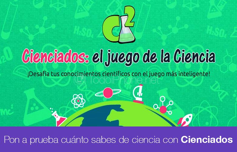 Cienciados ، لعبة سؤال وجواب حول Science for iPhone و iPad 1