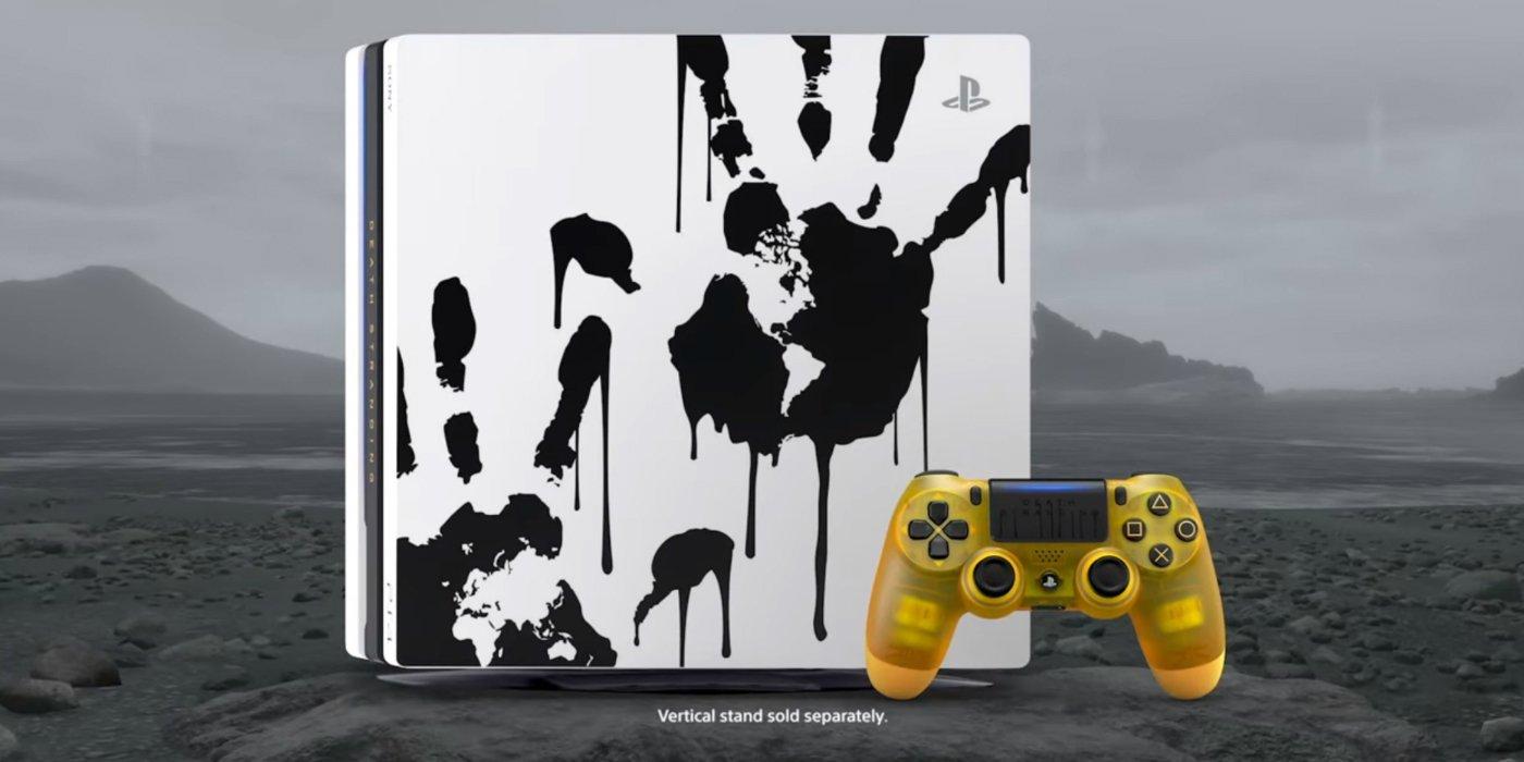 Death Stranding Limited Edition PS4 Pro هو غريب مثل اللعبة 1