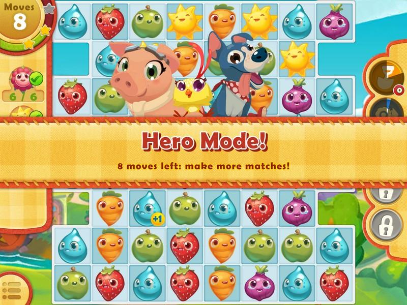 Farm Heroes Saga ، مستويات جديدة وممتعة متوفرة لأجهزة iPhone و iPad 2