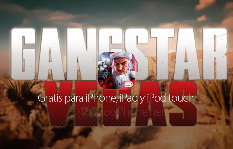 Gangstar Vegas by Gameloft ، مجاني الآن لأجهزة iPhone و iPad 1