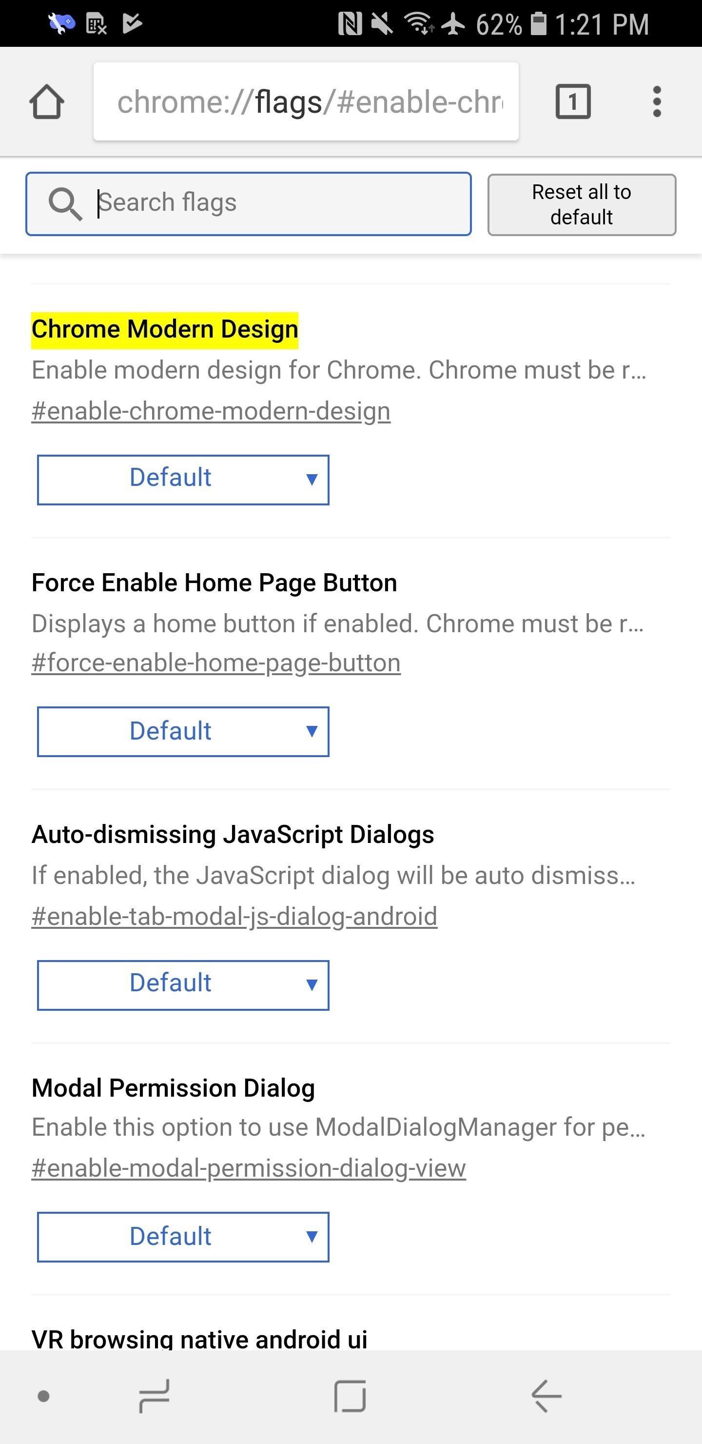 Google Chrome 101: كيفية فتح واجهة مستخدم تصميم المواد 2 مع رموز الجولة وشريط الحالة المختلط