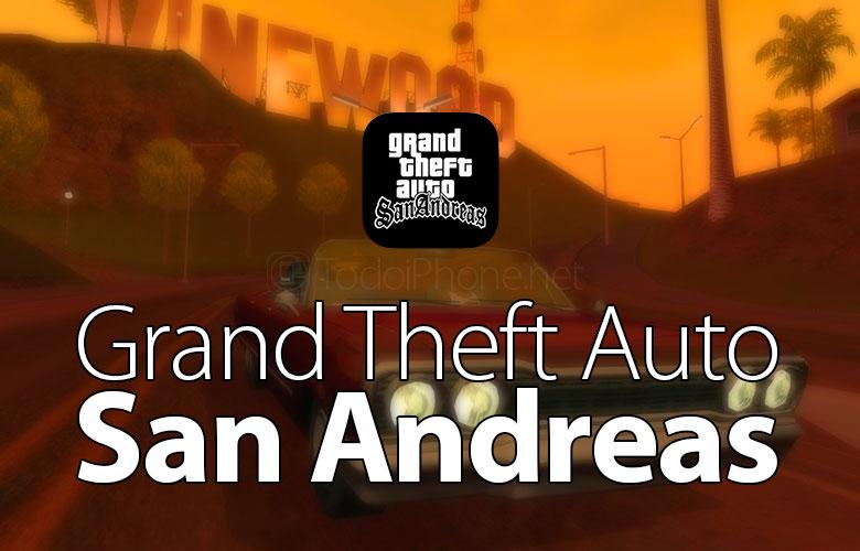 Grand Theft Auto: San Andreas ، متوافق مع iPhone 6 و iPhone 6 Plus 1