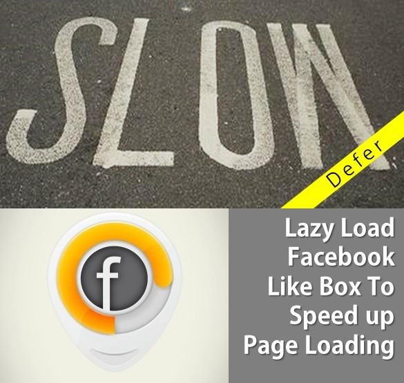 تحميل بطيىء Facebook مثل مربع لتسريع تحميل الصفحة