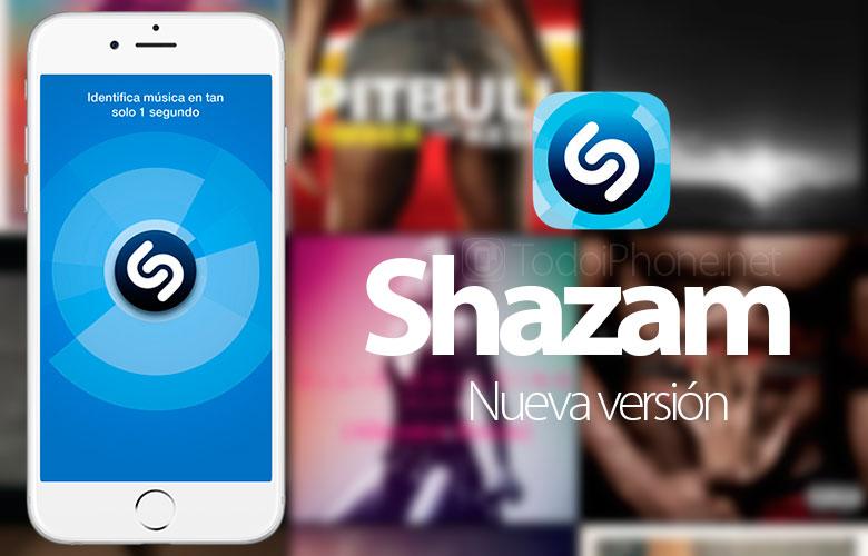 Shazam ل iPhone التحديثات ويحسن اتصال سبوتيفي 1