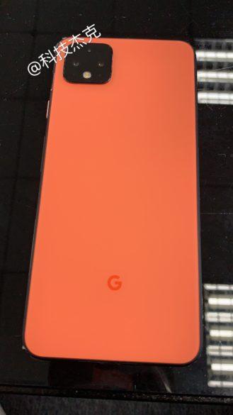 "[Update: New name, better image] تظهر الصور Pixel 4 بلون برتقالي ""كورال"" جديد - يشبه الكريمات 5"