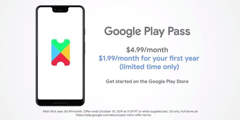 جوجل تتحدى Apple أركيد مع لعب باس 4.99 دولار / mth الخاص 2