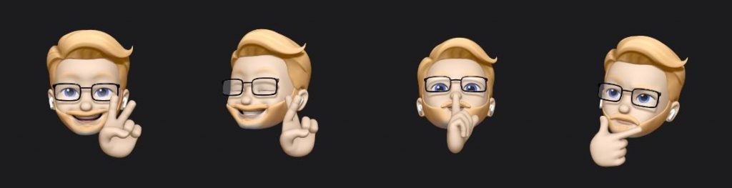 ios 13 beta 2 memojis