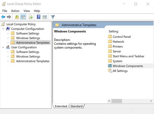 إزالة OneDrive من Windows برو 10
