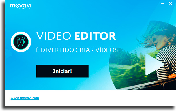 قم بتشغيل تطبيق تحرير الفيديو