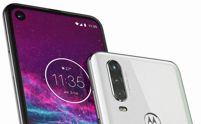 Motorola One Action: новые формы и новые размеры экрана 1