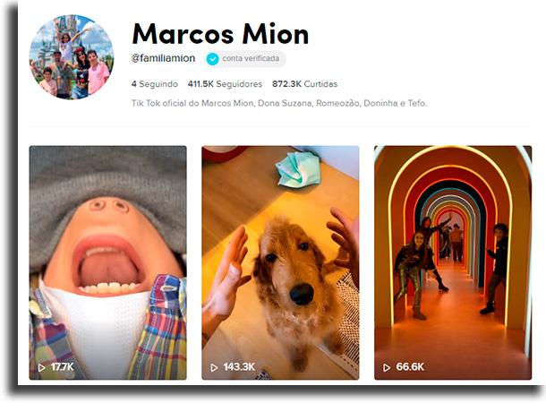 Marcos Mion أكبر المشاهير على TikTok