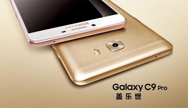أطلقت سامسونج أول هاتف ذكي لها بذاكرة وصول عشوائي (RAM) بسعة 6 جيجابايت في الهند ، وهو Galaxy C9 برو 1
