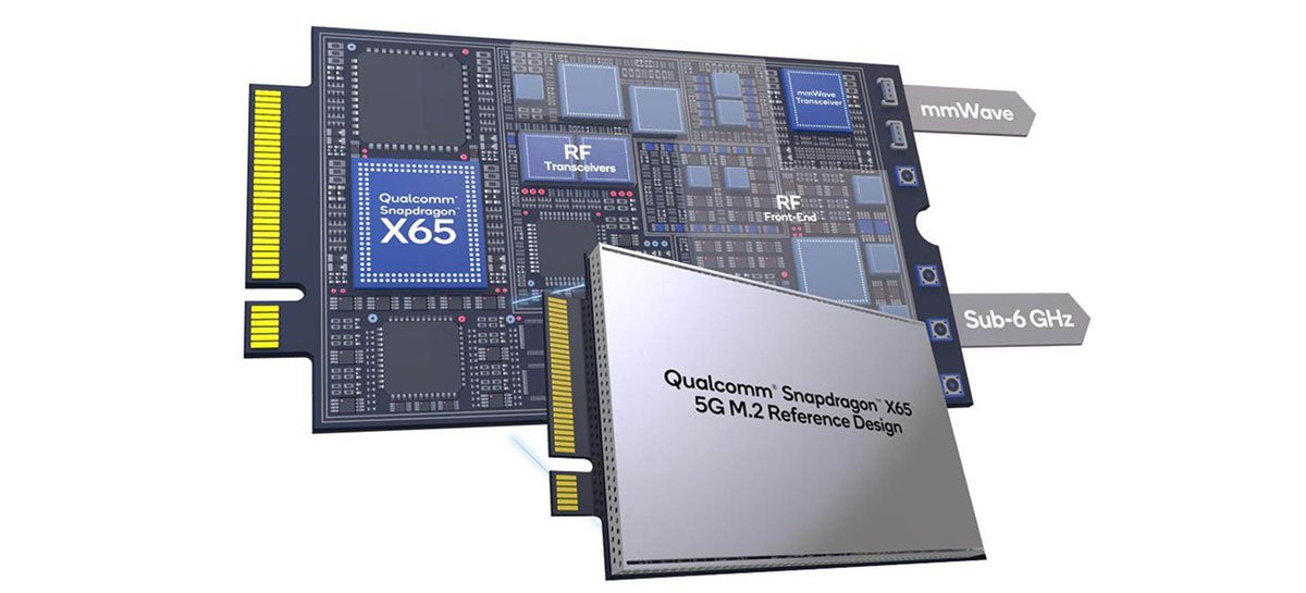 أطلقت كوالكوم مودم Snapdragon X65 للتوصيل والتشغيل 5G المتوافق مع أجهزة الكمبيوتر المحمولة 1